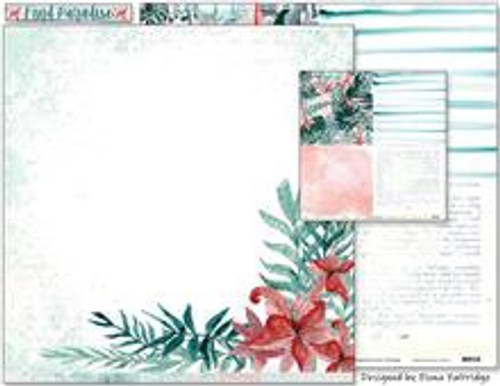 Colour Blast by Bee Arty - Find Paradise - Recharge 12 x 12 Paper