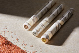 Choose your aloha! The Kanilea Kona Snow fountain pen is available in your choice of three medallions: rose gold, sterling silver, and 14k gold-plated sterling silver