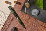 Kanilea Manta ballpoint pen, Classic profile, sterling silver medallion