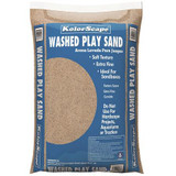 Play Sand, White, Washed  .4 cu ft. Bag