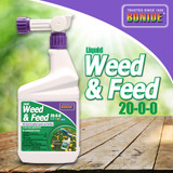 Liquid Weed & Feed 20-0-0 Ready-to-use Quart Selective Herbicide & Fertilizer