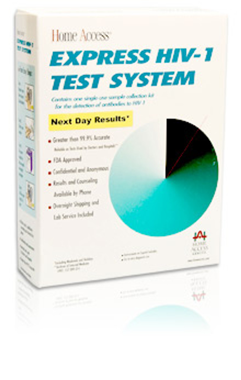 Home Access Express Hiv 1 Test Kit Results In 1 Day