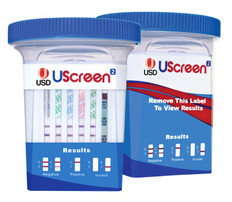 UScreen 12 Panel Home Drug Test Cup