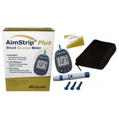 AimStrip® Plus Blood Glucose Meter Kit