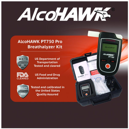 PT750 Alcohol Breathalyzer