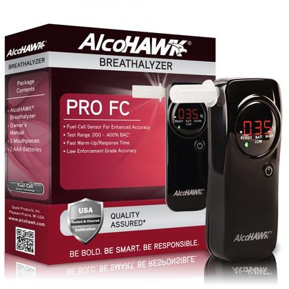 AlcoHAWK PRO FC Fuel Cell Breathalyzer