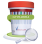 19 panel drug testing cup