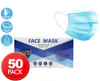 3 Ply Face Masks 50pk - TGA Approved Protective & Disposable