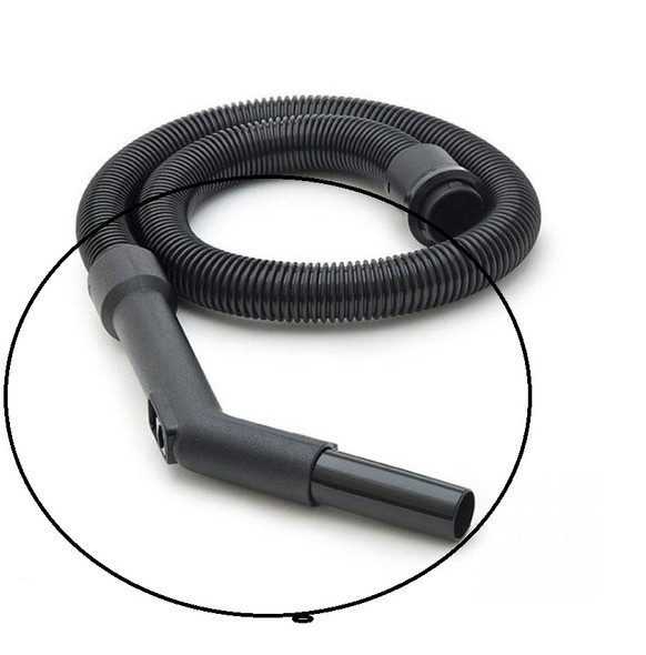 35 mm Plastic Vacuum handle, Bent End Piece