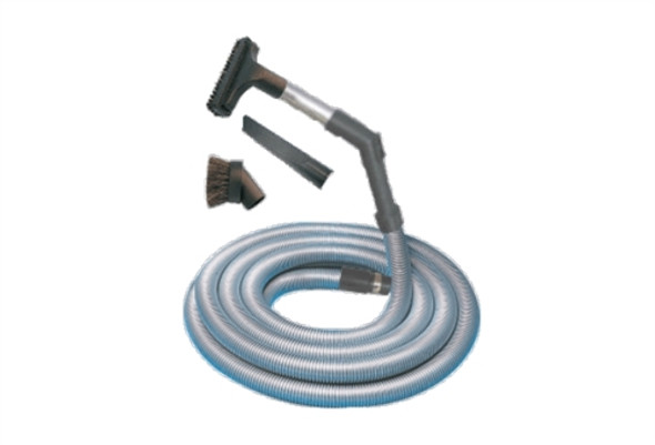 6m ducted vacuum cleaner hose kit for garage, cars and workshop