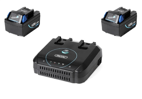2 x Battery & Charger Pack Pacvac Superpro, Velo