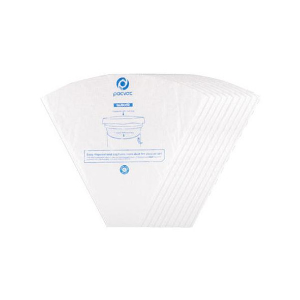 10 x Genuine SMS Cone Bags for Pacvac Superpro 700 Backpacks