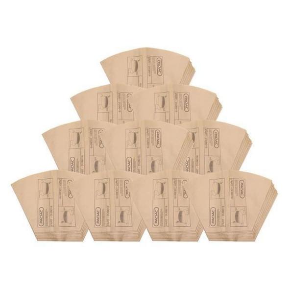 10 x Genuine Pacvac Paper Dust Bag for Superpro 700 Series
