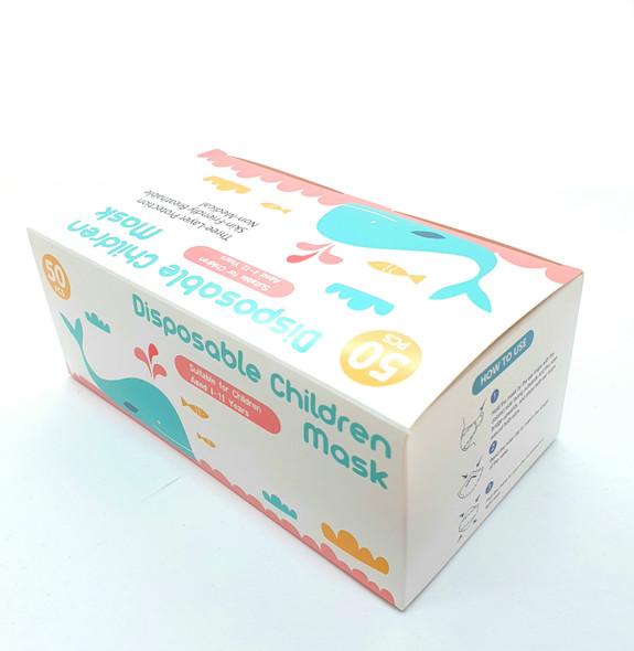 Children Face Mask 3 ply / 50pk / Disposable