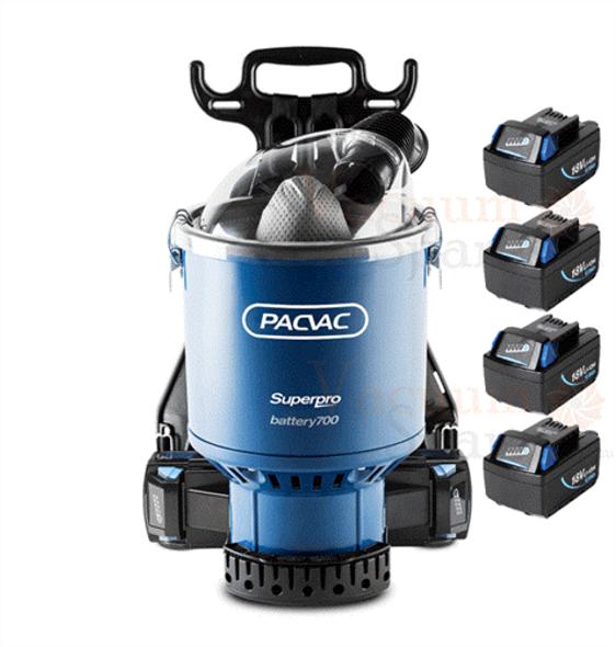 Pacvac Superpro Battery Backpack