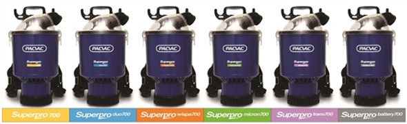 10 x Paper Dust Bags for Pacvac Superpro 700 Series