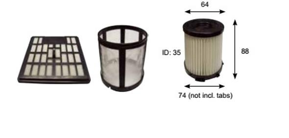 Airflo AFV4007 vacuum cleaner Filter Pack