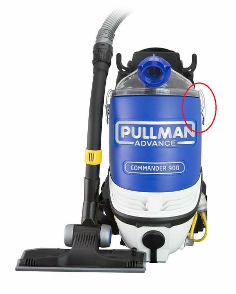 Latch for Pullman PV900 dust bin lid