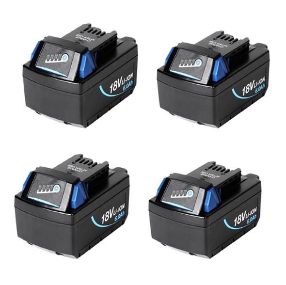 4 x Battery Pack Pacvac Superpro and Pacvac Velo