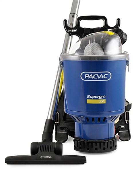 Pacvac Superpro 700 Backpack Vacuum Cleaner