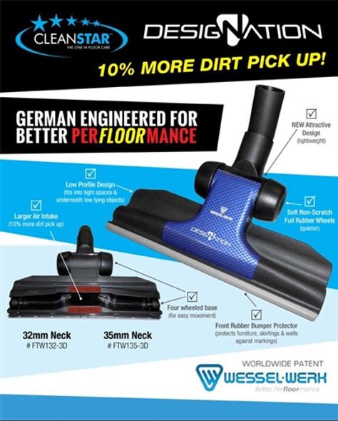 Wessel Werk designation Gulper (low profile) Floor Tool 32mm
