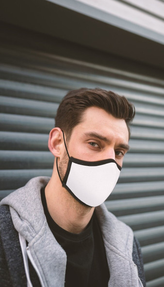 Reusable Silver-Ion Face Covering 99.9% Antibacterial