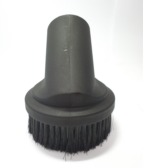 Large 50mm round dusting brush tool for big commercial vacuums