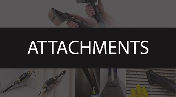 For any task there is a suitable attachment. Cleaning yor car or pet hair or blinds we will have the tool for you here. Click below for full range