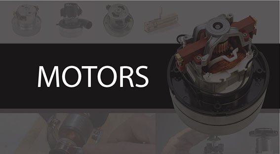 Replacing the motor gives a new life to your vacuum cleaner. We have the biggest range of Ametek, Domel and Lamb motors here