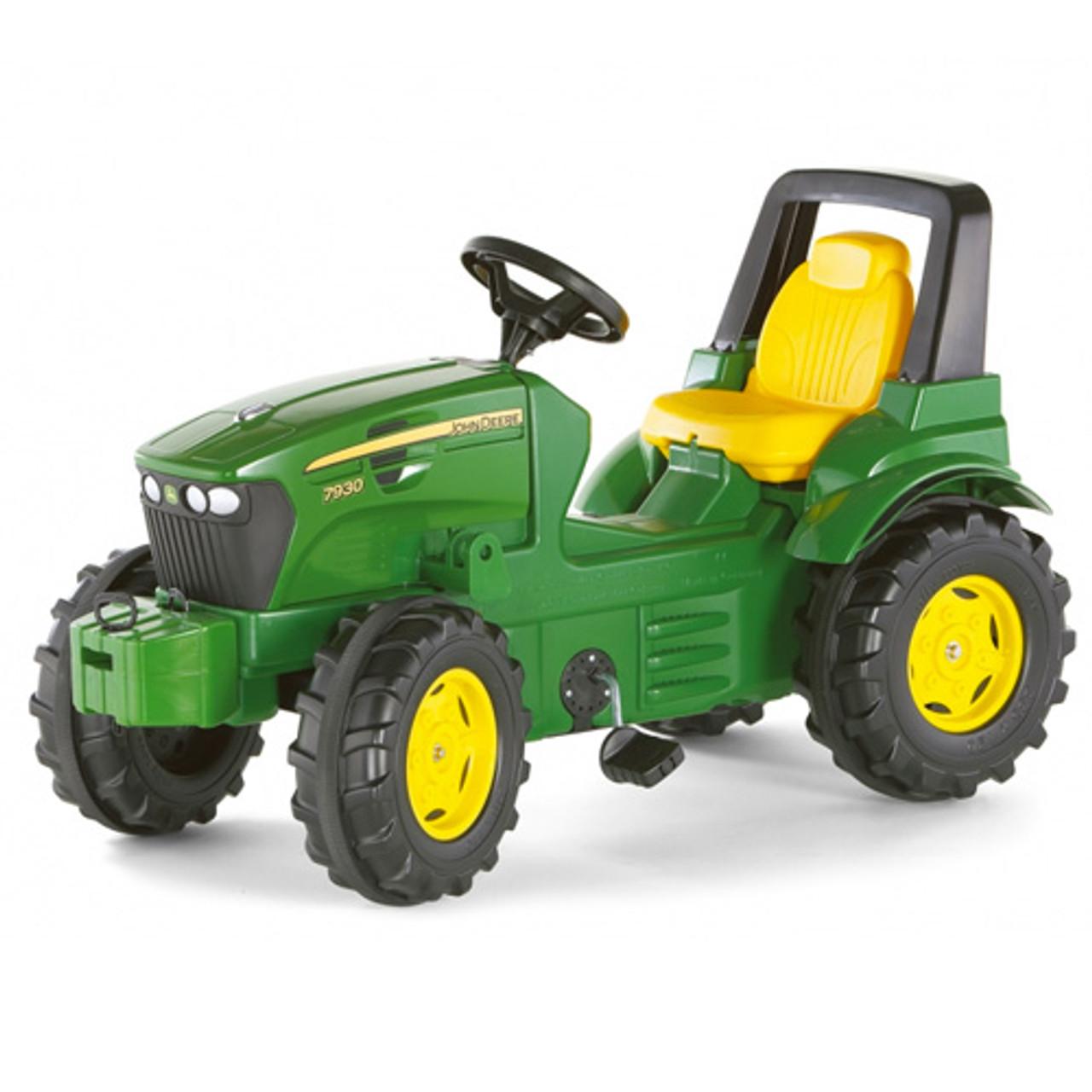 Kids Large John Deere 7930 Green Pedal Tractor Kids Tractors London