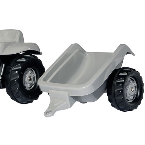 Little Grey Fergie Ride On Kids Pedal Tractor Set