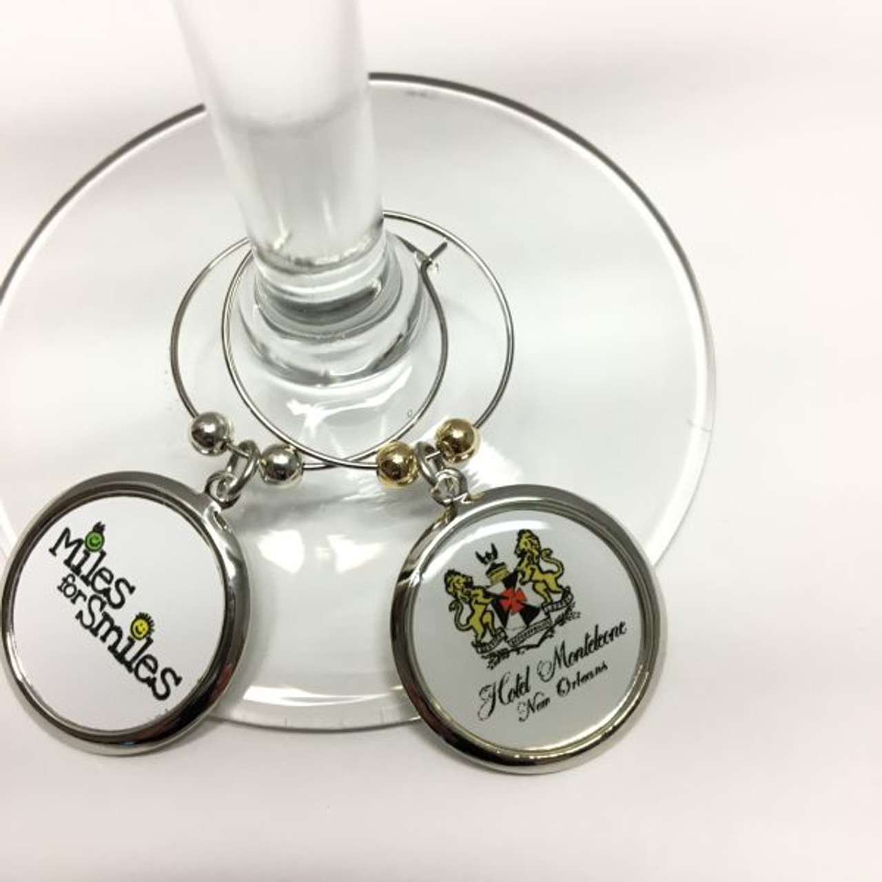 Wine Charms With A Custom Imprint