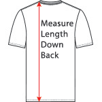 Measuring length down the back