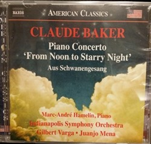 CD Claude Baker Piano Concerto Noon Starry