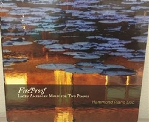 CD FIREPROOF Latin American Music for Two Pianos