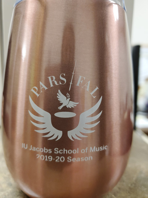 This Parsifal Tumbler is from our special Indiana University Bicentennial performance of the opera Parsifal.