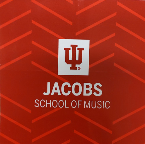 Decal sticker Jacobs School of Music