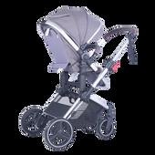 Joy Baby Glide 4 wheels 2 in 1 Baby Pram Stroller with Free Accessories