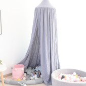ALL 4 KIDS Aubrey Nursery Canopy - Grey