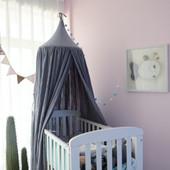 ALL 4 KIDS Aubrey Nursery Canopy - Grey