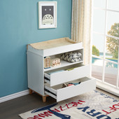 JOY BABY Aurora 2 Drawers Chest of Draw with Change Table