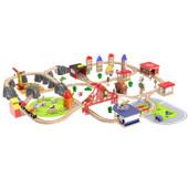 Onshine 100 pcs Train Track City Set - Pink