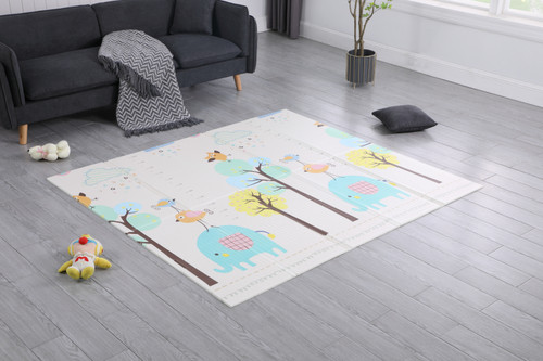 Joy Baby Double Sided XPE Baby Play Mat - Elephant Home
