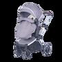 Joy Baby Glide 4 wheels Baby Pram Stroller with Free Accessories