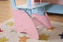 ALL 4 KIDS Large Girls Hand Painted Dressing Table With Chair