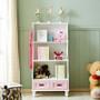 ALL 4 KIDS Gloria Pink Bookcase Book Shelf Storage Unit