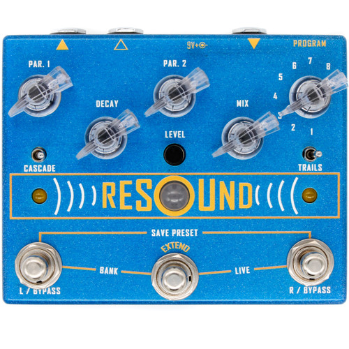 Resound - Reverb with Presets and Extend