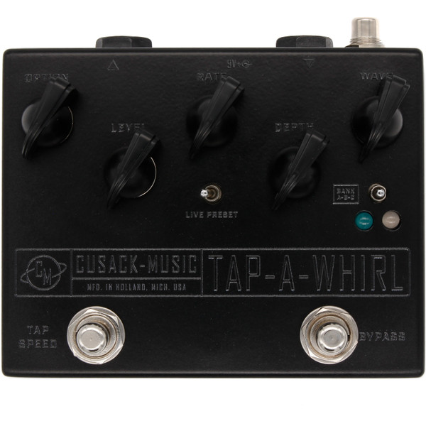 Tap-a-Whirl - Analog Tremolo with Tap Tempo