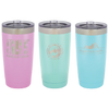 20 Ounce Powder Coated Laser Engraved Tumblers
