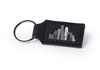 Black Rectangular Keychain
